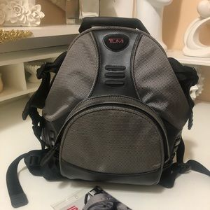 Tumi backpack new condition for men, or women
